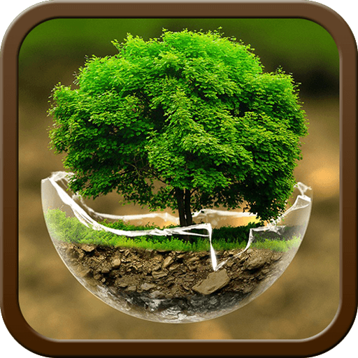 Green Nature HD Theme: Comic Android themes FREE APK
