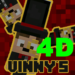 """""""Vinny's"""" 4D skins pack for MCPE v 1.2 new! 1.0 APK Free Download (Android APP)"""