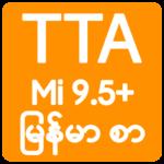TTA MI Myanmar Font 9.5 to 10 11318 APK Free Download (Android APP)