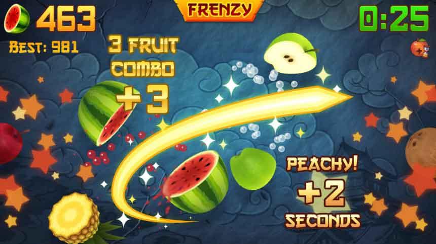 Fruit Ninja Game apk